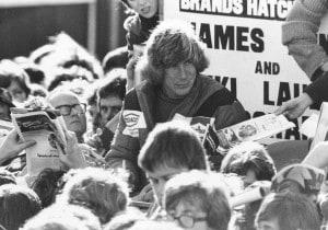 James Hunt, con Rush il ritorno della leggenda