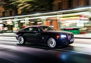 Rolls-Royce Wraith, potenza ed eleganza