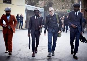 La moda uomo in numeri e foto