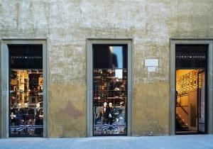 Il nuovo negozio di Tommy Hilfiger a Firenze