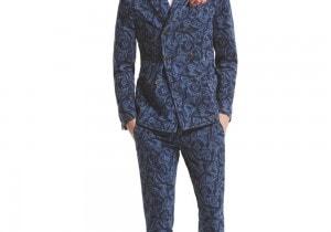 L'abito da uomo di primavera è slim