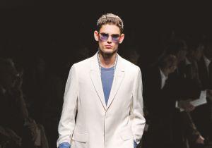 La moda uomo vuole il bianco totale