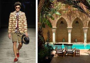 La moda uomo incontra lo stile di Marrakech