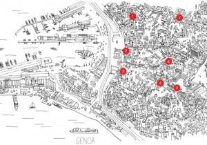 I negozi di Genova: la mappa