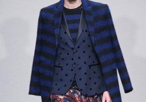 Trend d'autunno: il cappotto a righe