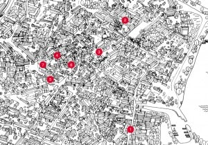I negozi di Mantova: la mappa