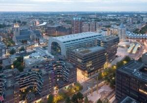 4 nuovi edifici fanno di Rotterdam la New York sulla Mosa