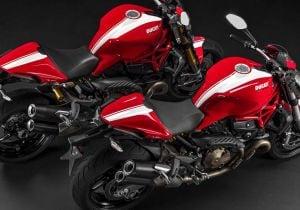 Ducati Monster Stripe, ecco le nuove naked