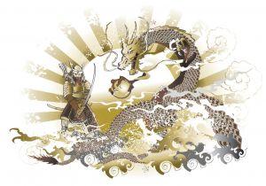 Tatuaggio a forma di drago