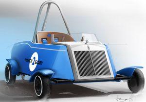La Rolls Royce creata dai bambini
