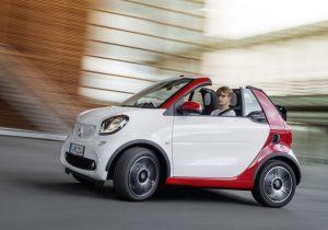 Nuova Smart cabrio al Salone di Francoforte