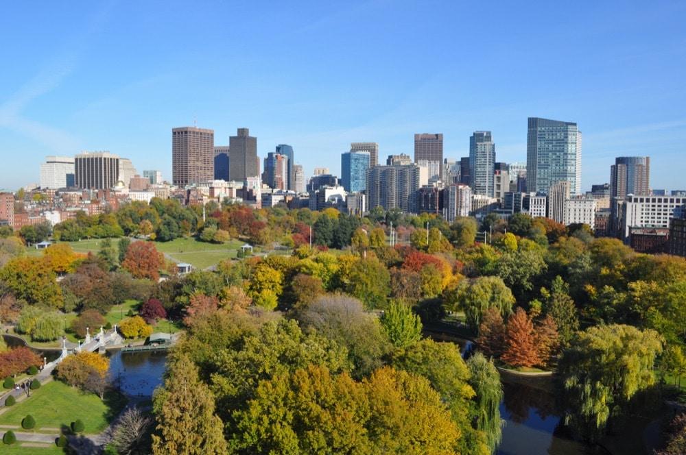 Boston Massachusetts fall
