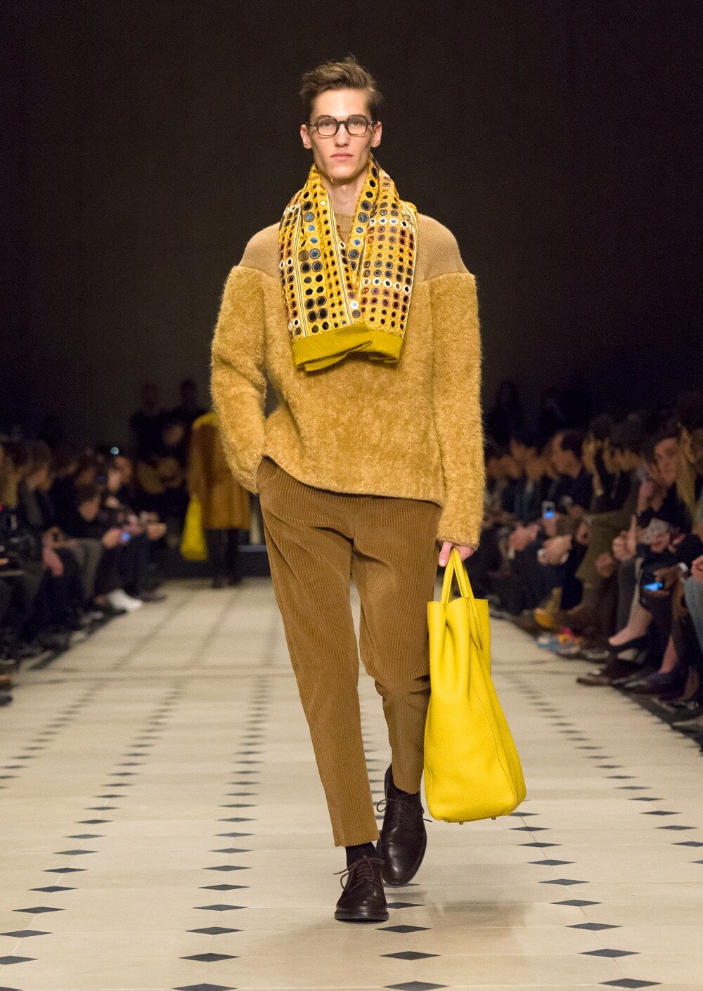 Burberry Prorsum Menswear Autumn_Winter 2015 Collection - Look 40