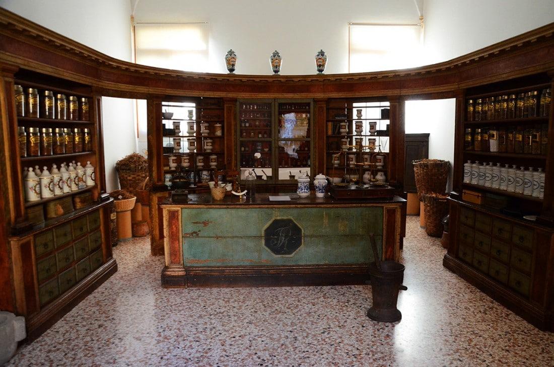 farmacia - Abbazia di Praglia