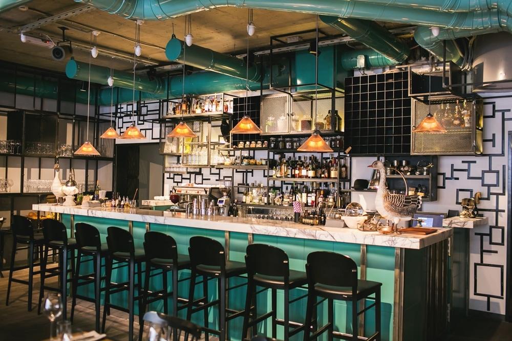 Mosca 15 bar kitchen