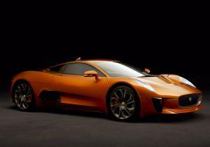 Jaguar C-X75, l'auto del nemico di James Bond