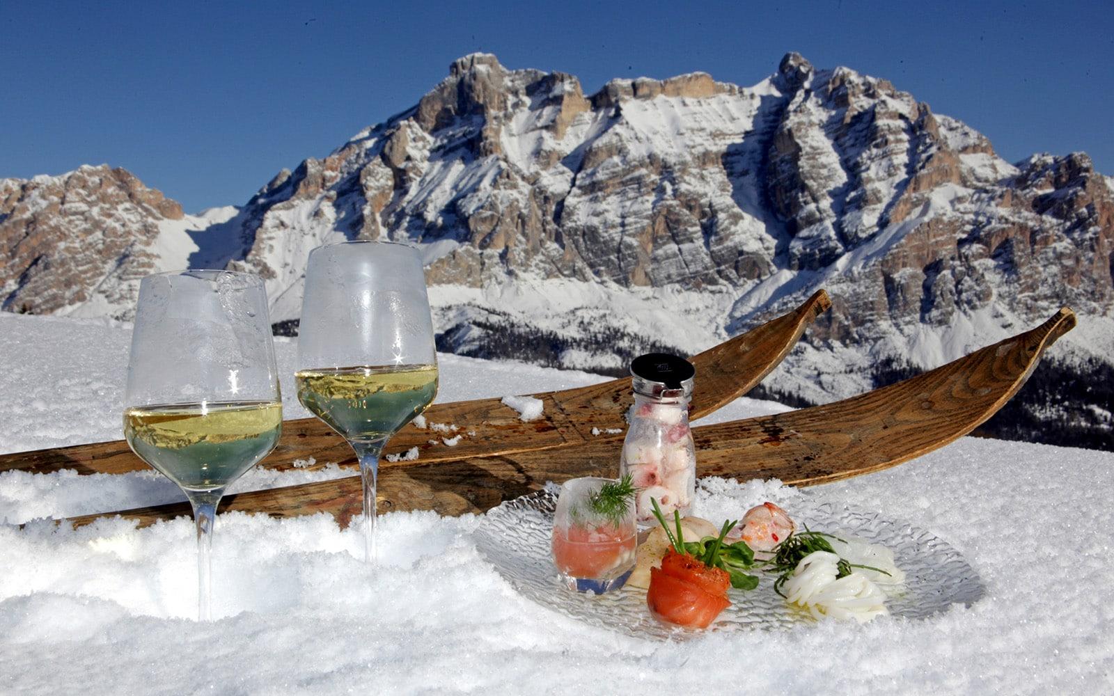 ricetta di montagna, in Alta Badia