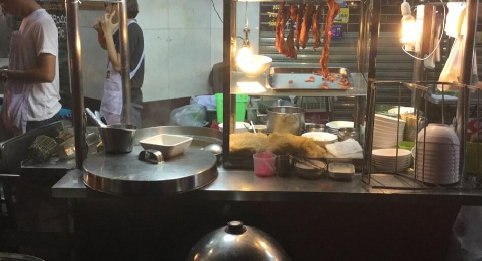 Thailandia-Paolo-Griffa-China-Town-Bancarella-udon