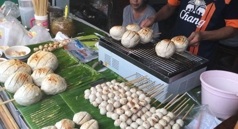 Bankok mercato Pak Khlong Talat
