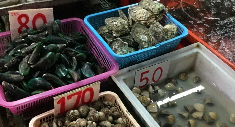 Rawai mercato del pesce