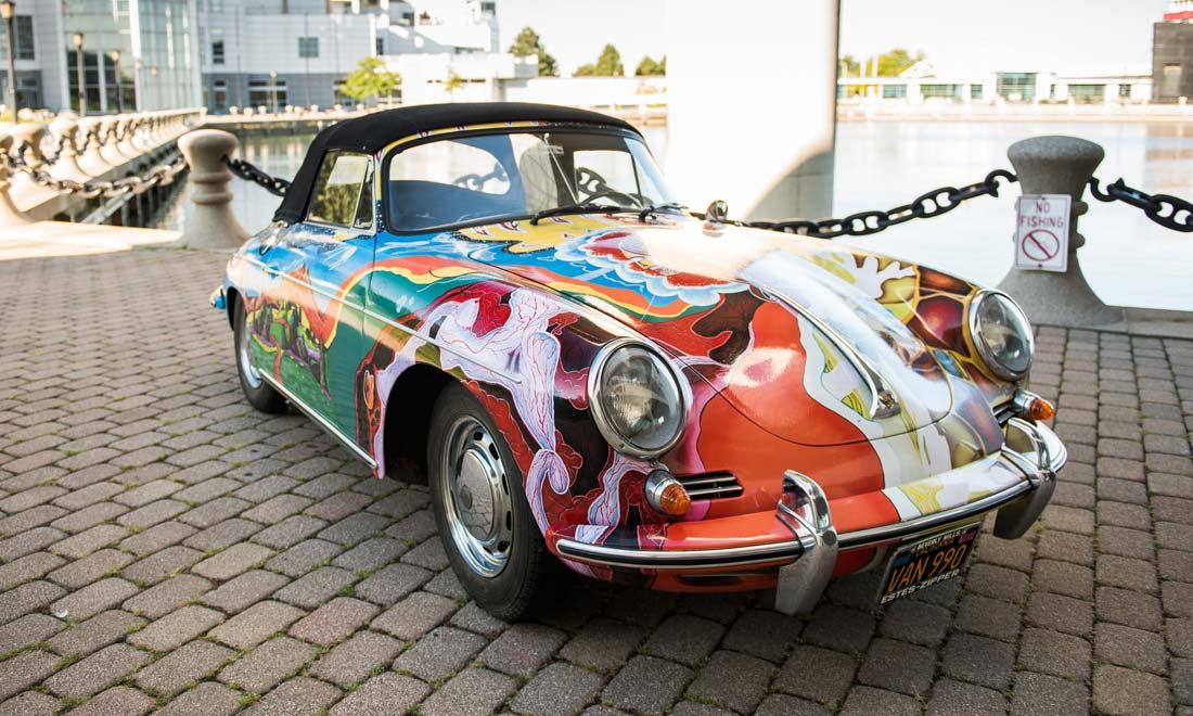 janis-joplin-1965-Porsche-356-Cabriolet