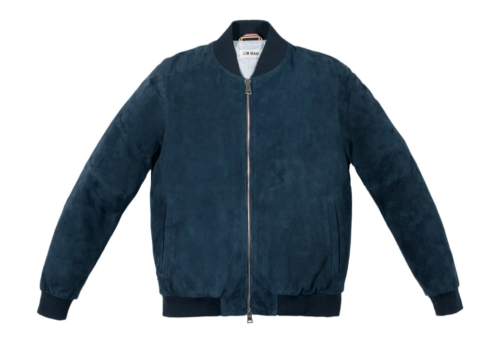 LOW BRAND_ss16 suede bomber