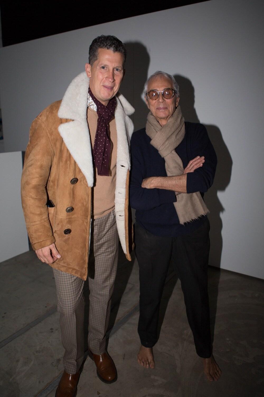 Stefano Tonchi and Gian Paolo Barbieri