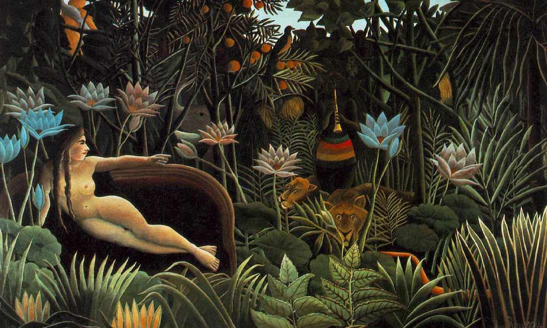 The-Douanier-Rousseau-il-sogno