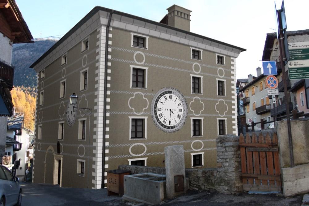 v casa dell'orologio