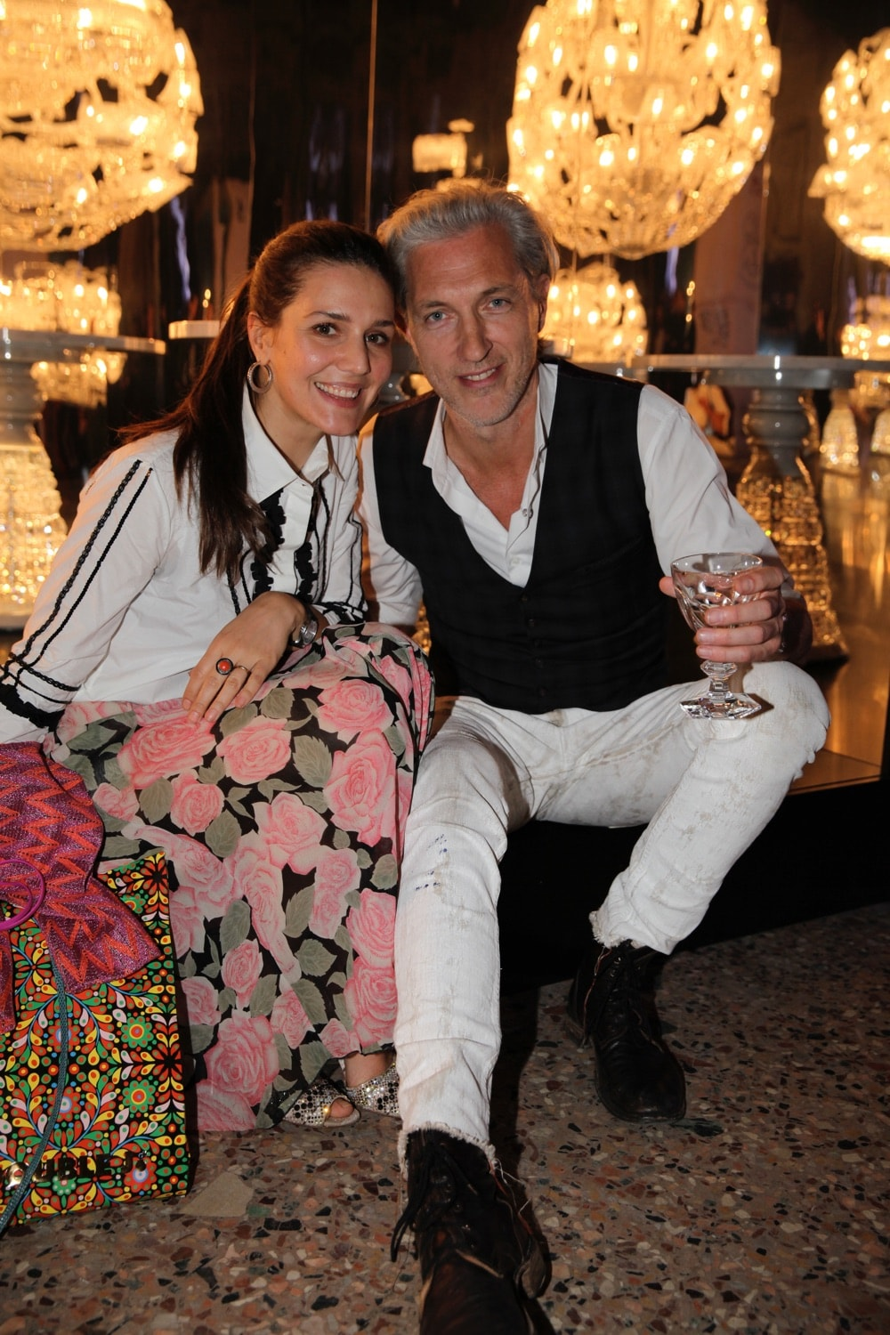 Margherita Maccapani Missoni and Marcel Wanders
