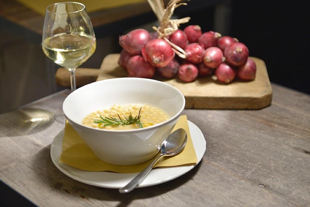 Zuppa di ceci e vino bianco da PreTesto