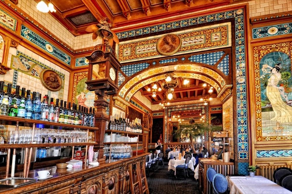 Città Nantes ristorante La Cigale
