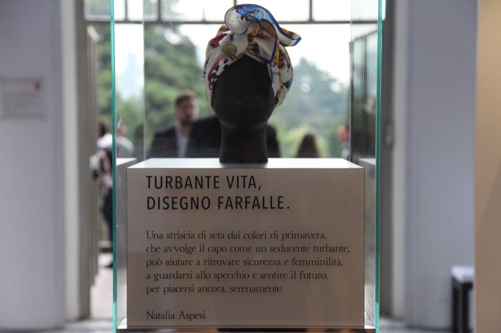 Evento Charity Dee di Vita e Mantero - Particolare pensiero di Natalia Aspesi