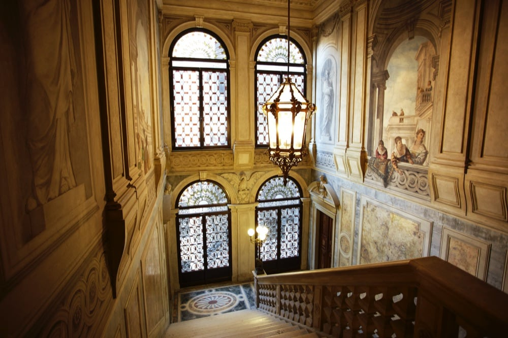 Aman Canal Grande Venice - Grand Stairway