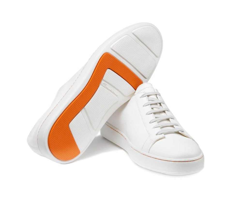 Santoni - Wider_White_sneakers