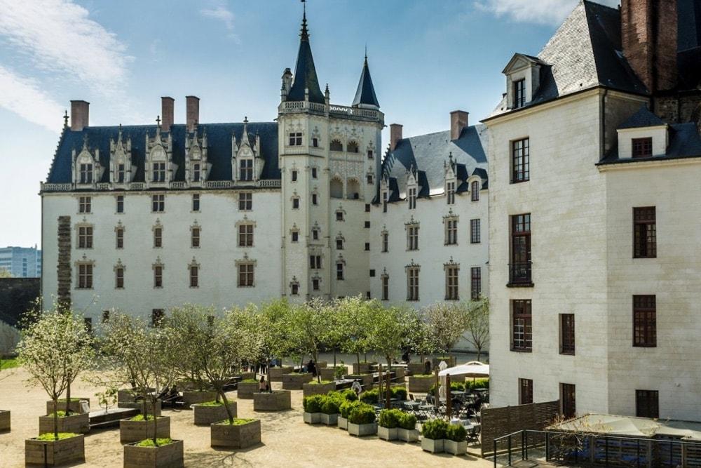 città Nantes castello
