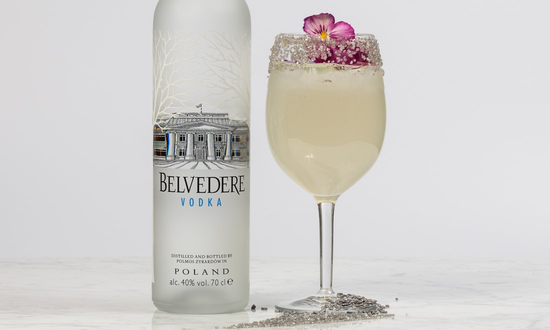 Cocktail vodka Belvedere