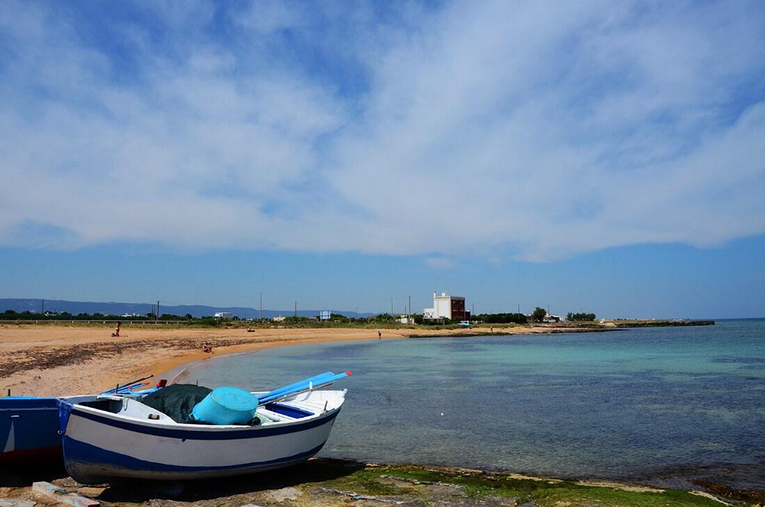 Una spiaggia di Savelletri