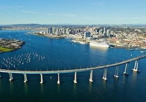 Coronado, la penisola nella baia di San Diego