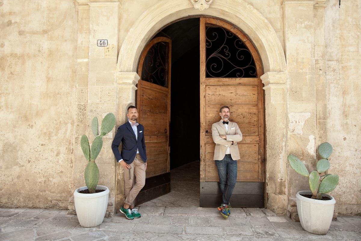 Christian Pizzinini e Antonio Scolari