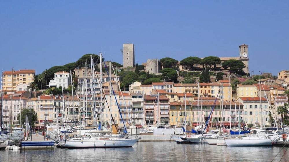Cannes vecchio porto