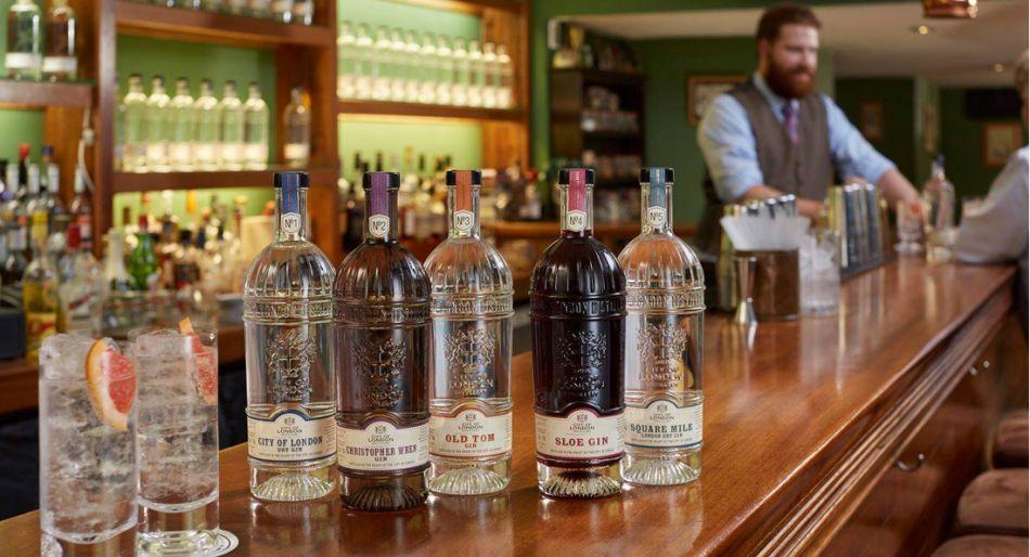 cocktail bar londra gin