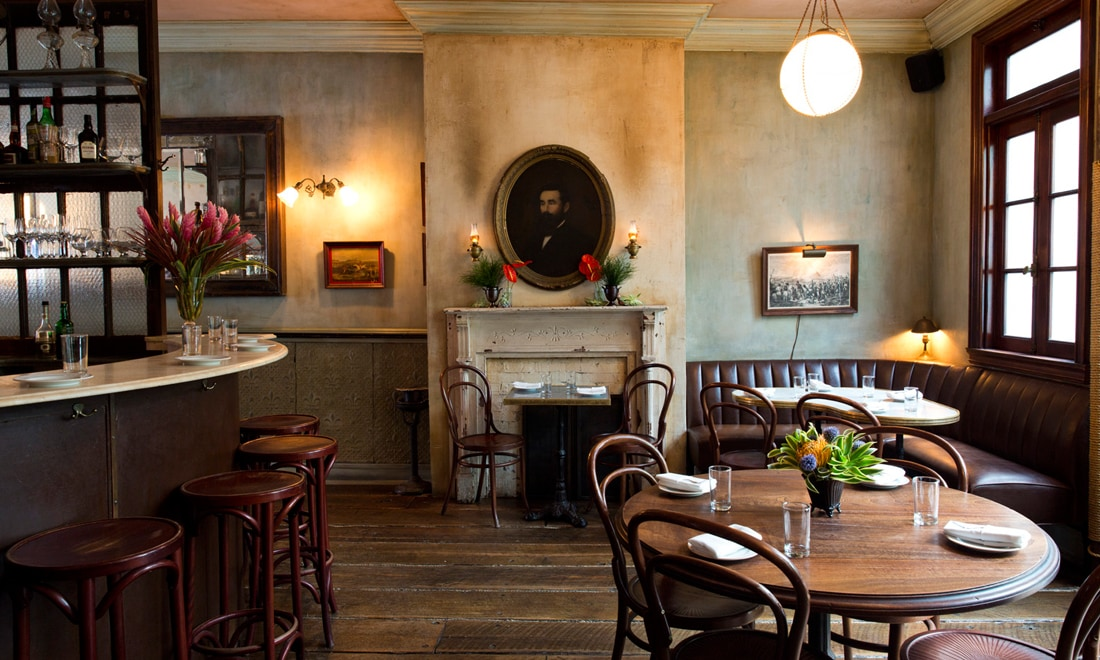 cocktail bar di New York City Maison Premiere