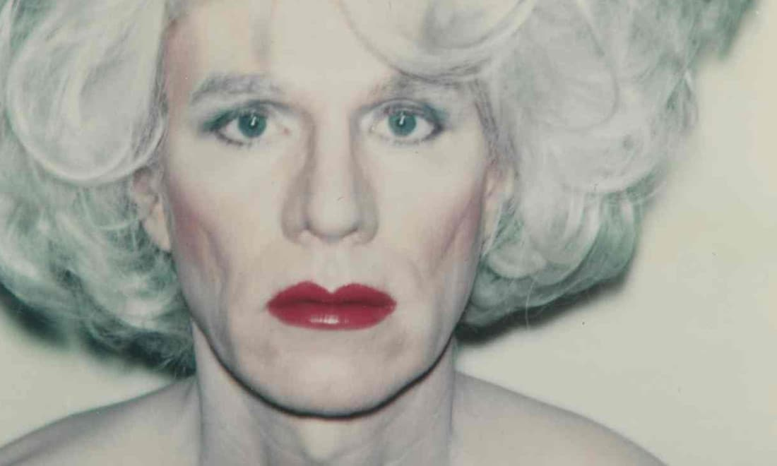 Andy-Warhol-Self-Portrait-with-Platinum-Bouffant-Wig