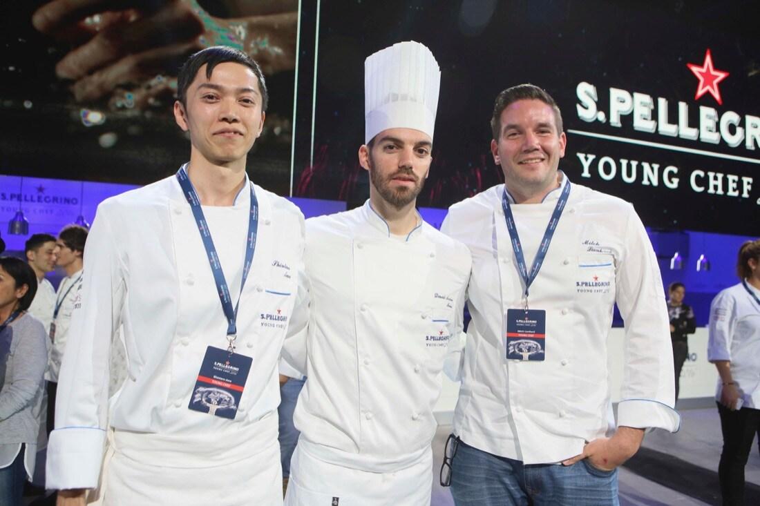Finalists YC Shintaro Awa.FRA - YC David Andrés.SPA - Mitch Lienhard.USA