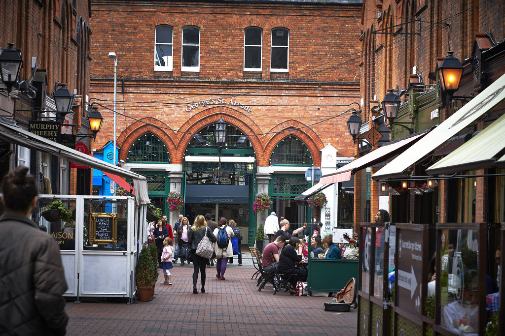 Georges-Street-Arcade-Dublino