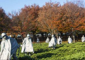 Washington e Georgetown in autunno