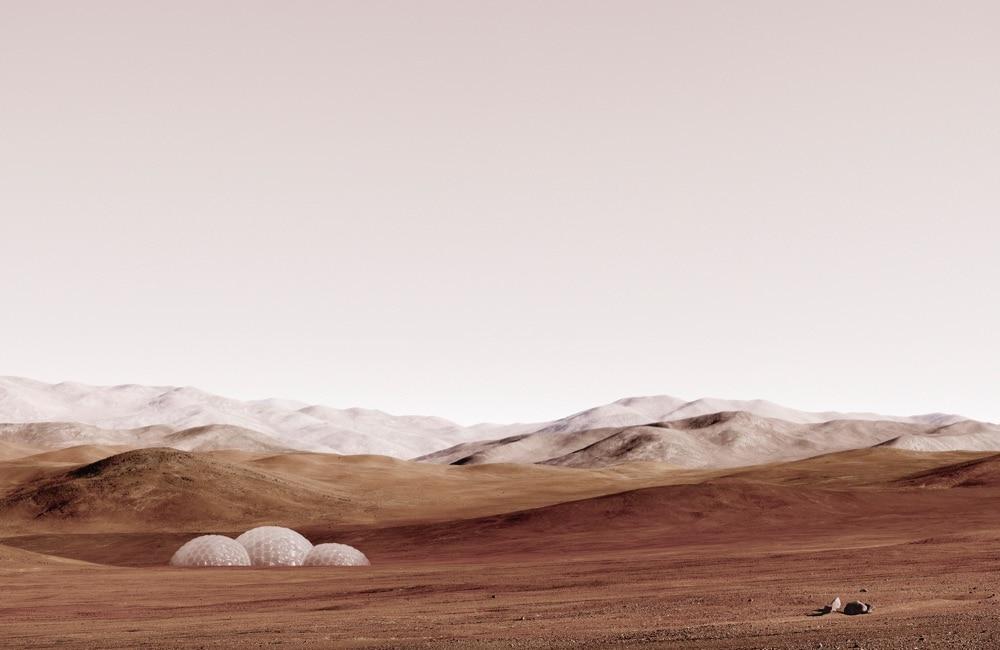 Michael Najjar_Sands of Mars, Courtesy Studiola Citta - Verona_space appeal