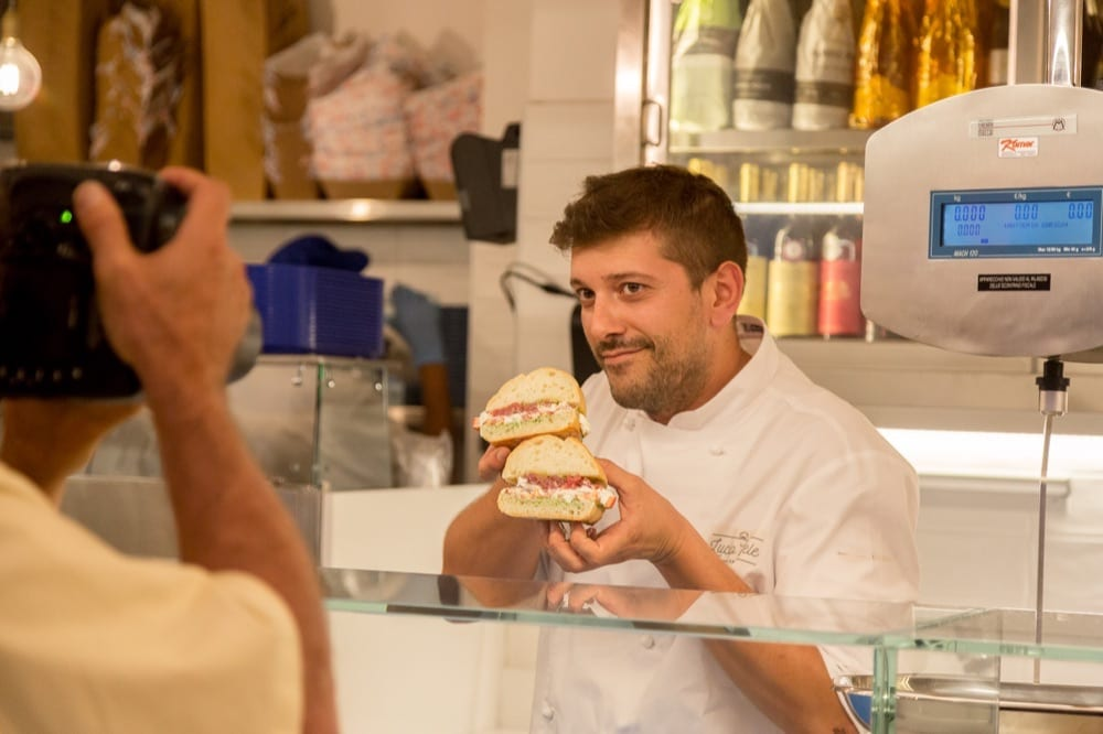 Lucio Mele chef di Pescaria