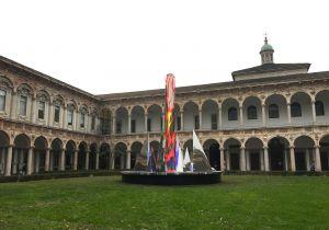 Nanda Vigo illumina d'arte l'Università di Milano